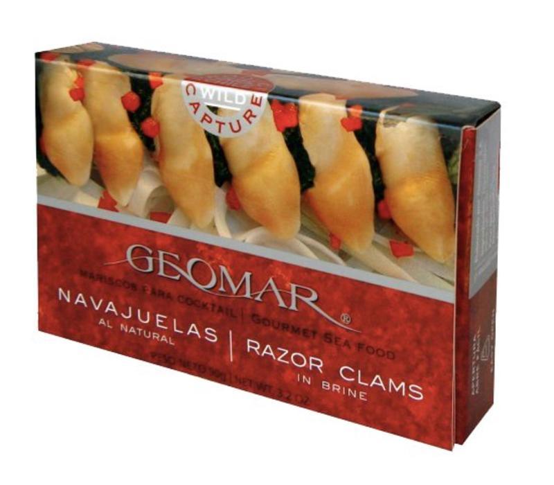 """""""NAVAJUELAS"""" CHILEAN RAZOR CLAMS"""