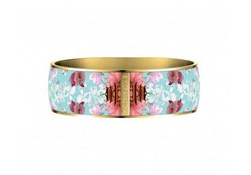 Flor Amazona Brazalete Flor Amazona, Samurai Dream, baño de oro 24kt