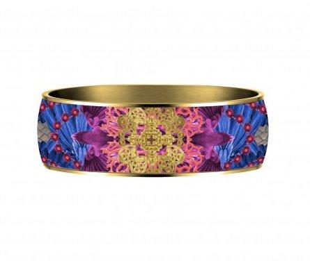 Flor Amazona Armband Flor Amazona, Taganga flight, vergoldet 24 Kt, 2,5cm