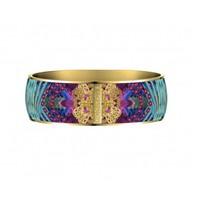 Armband Flor Amazona, Taganga flight, vergoldet 24 Kt, 2,5cm