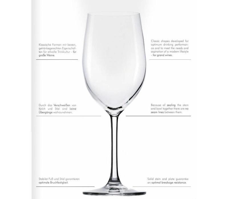 Grande Cuvée Bordeaux Glas - 6 Stück