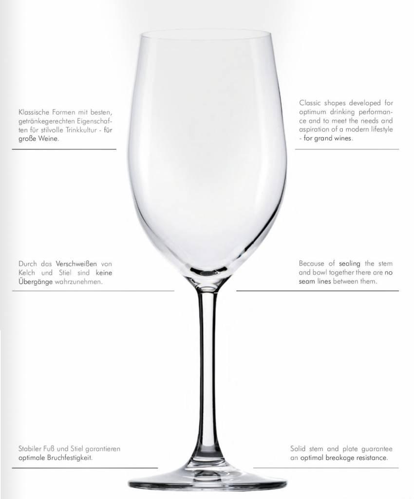 Stölzle Grande Cuvée Bordeaux Red wine Glass - 6 Pieces