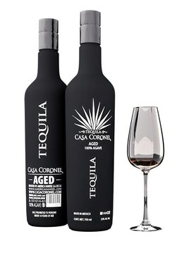 """Casa Coronel Tequila """"Aged"""" 100% Agave, Mexico"""
