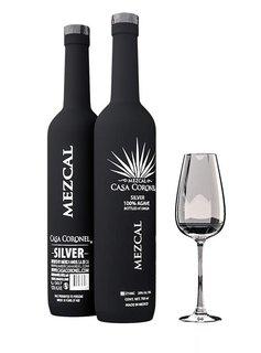 """Casa Coronel Mezcal """"Silver"""" 100% Agave, Mexiko"""