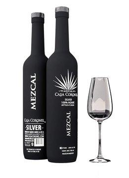 """Casa Coronel Mezcal """"Silver"""" 100% Agave, Mexico"""