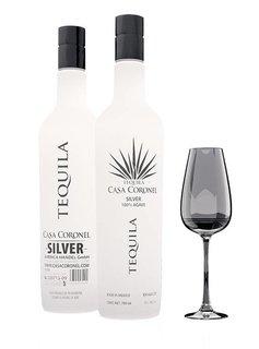 "Casa Coronel Tequila ""Silver"" 100% Agave, Mexiko"