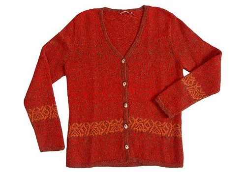Apu Kuntur Strickjacke Chimu, 100% Alpaka Superfine Wolle