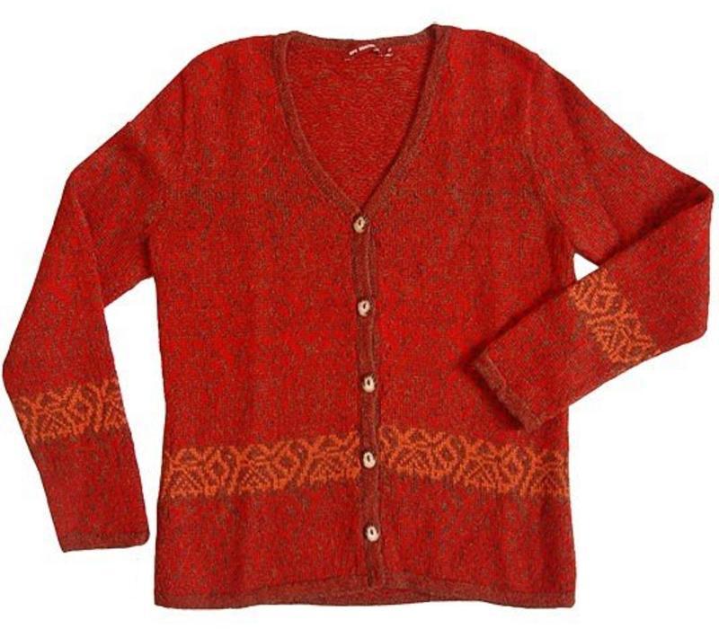 Sweater Chimu, 100% Alpaca Superfine Wool