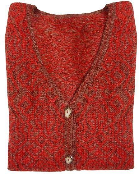 Apu Kuntur Sweater Chimu, 100% Alpaca Superfine Wool