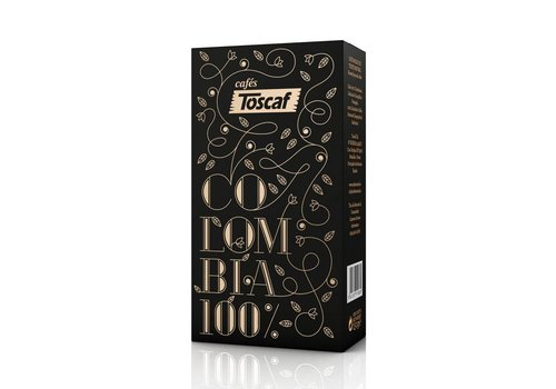 Toscaf COFFEE COLOMBIA 100% ARABICA, GROUNDED