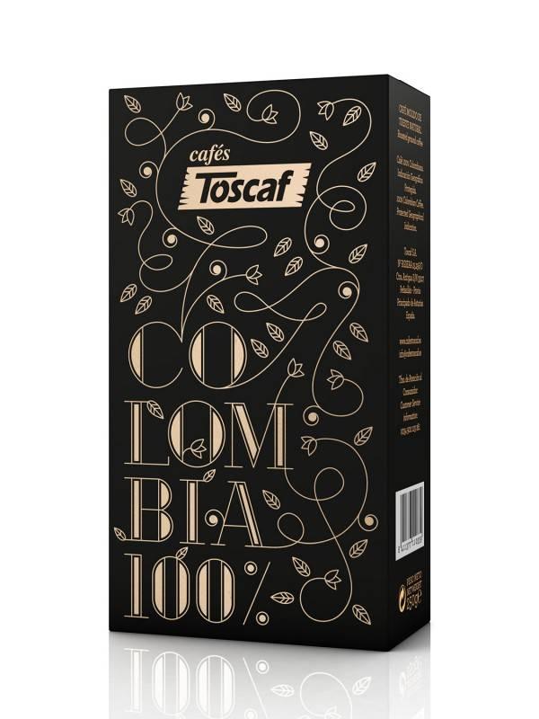 Toscaf Kaffee Toscaf Colombia 100% Arabica, gemahlen