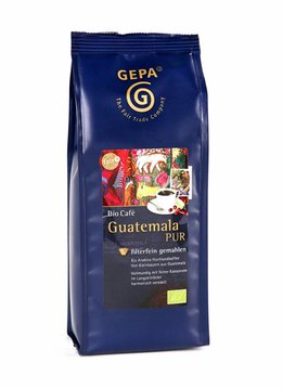 Gepa Bio Kaffee Guatemala PUR, gemahlen