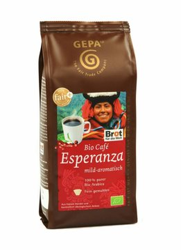 Gepa Bio Coffee Esperanza, milled