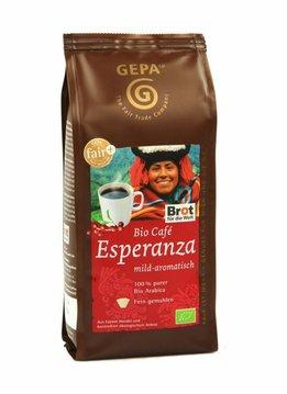 Gepa Bio Kaffee Esperanza, gemahlen