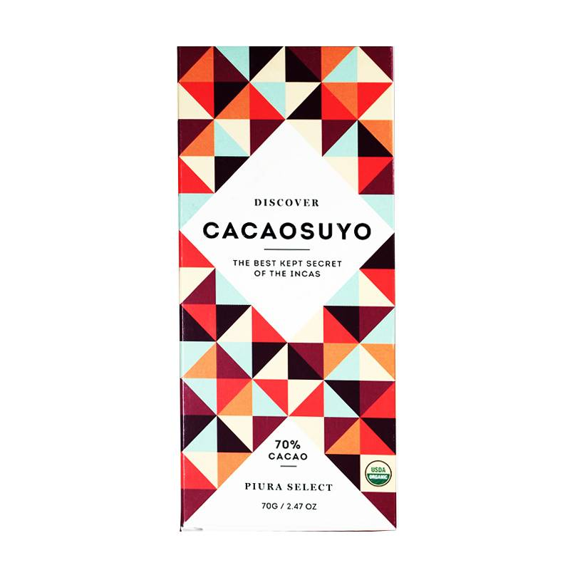 "Cacaosuyo Cacaosuyo Premium chocolate Piura Select ""Grand Cru""70%"