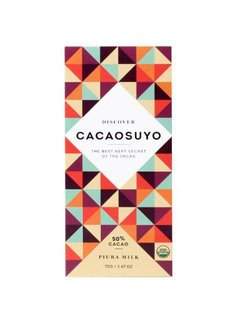 """Cacaosuyo Cacaosuyo Premiumschokolade """"Piura MILK"""" 50%"""