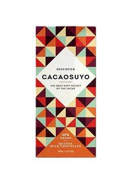 "Cacaosuyo Cacaosuyo Premium chocolate ""Piura MILK with Quinoa Crunch"" 40%"