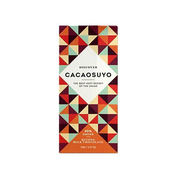 """Cacaosuyo Cacaosuyo Premiumschokolade """"Piura MILK with Quinoa Crunch"""" 40%"""