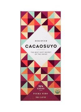 """Cacaosuyo Cacaosuyo Premium chocolate """"Piura Nibs"""" 70%"""