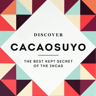 "Cacaosuyo Cacaosuyo Premiumschokolade ""Lakuna"" 70%"