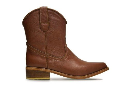 Basto Ankle boots Basto, Whisky, 100% Leather - Copy