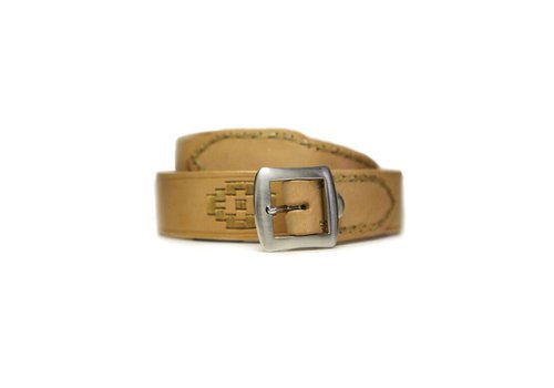 "Basto LEATHER BELT ""PAMPA"" 100% LEATHER FROM URUGUAY"