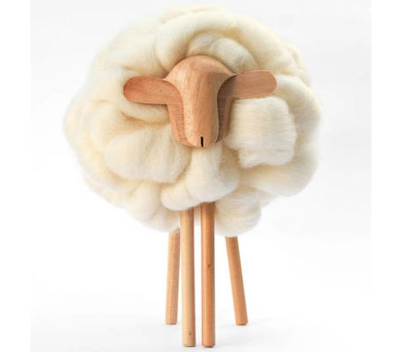 Skulptur Schaf, 100% Correidale Wolle, Uruguay