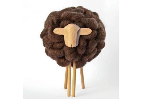 Taller Clavelli Oveja Deco, 100% lana Correidale, Uruguay