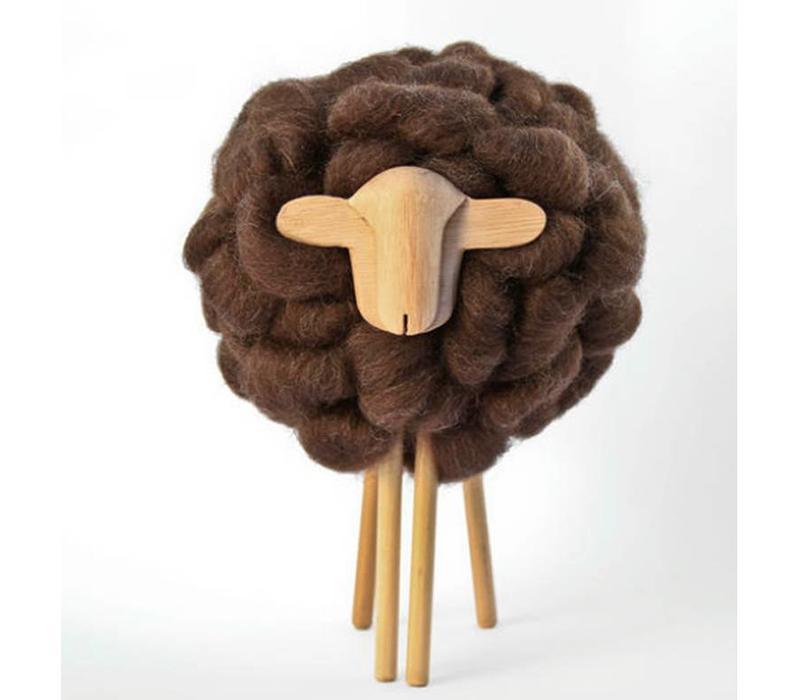 Skulptur Schaf, 100% Corriedale Wolle, Uruguay