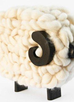 Taller Clavelli Sculpture Ram Sheep, 100% Correidale Wool, Uruguay