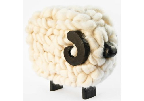 Taller Clavelli Sculpture Ram Sheep, 100% Correidale Wool, Uruguay