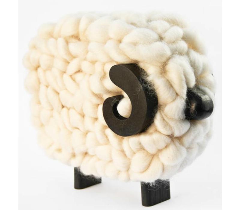 Sculpture Ram Sheep, 100% Correidale Wool, Uruguay