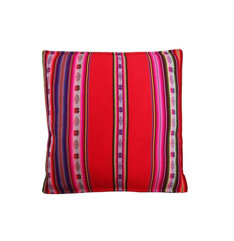 Pillow Awayo red with inside cushion, 50x50cm