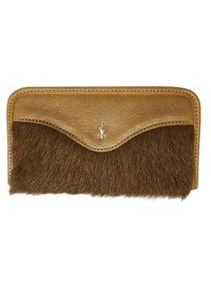 Wallet Leather & Fur