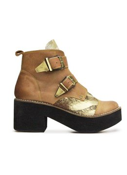 Matices Matices Schuhe mit Platform, 100% Leder