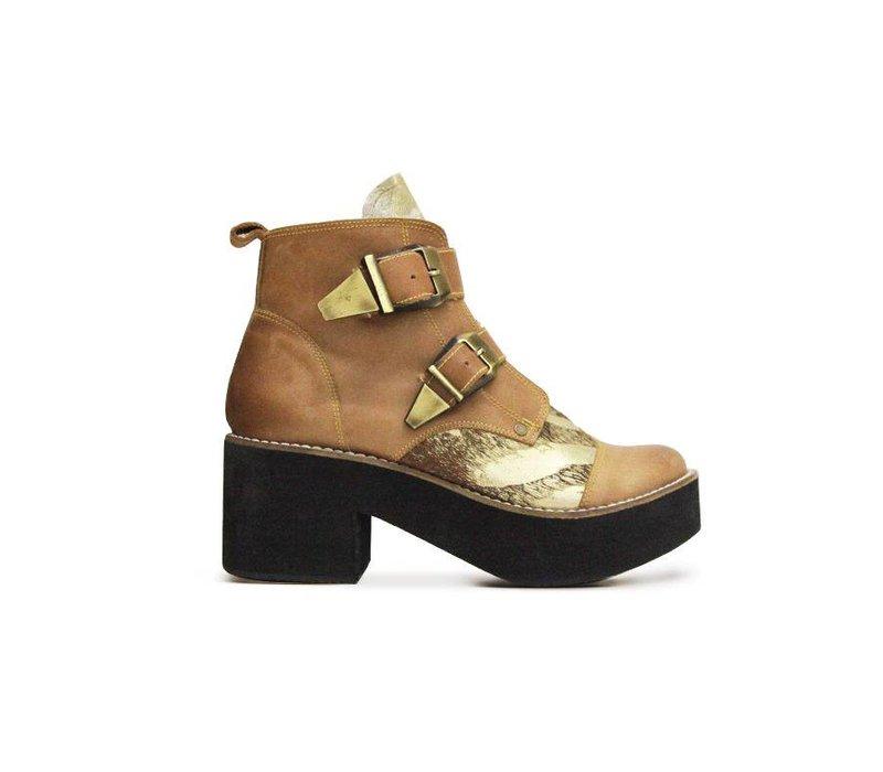 Matices Schuhe mit Platform, 100% Leder