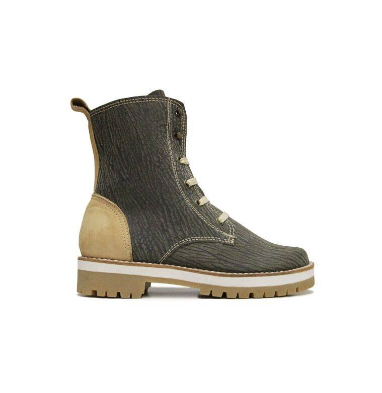 """Matices Ankle Boots """"Amazona Beige"""" 100% Leather"""