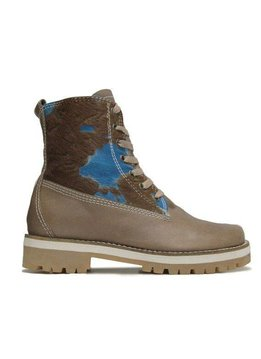 "Matices Stiefelette ""Blue Cow"" 100% Leder"