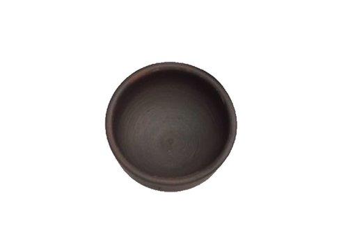 Platillo de cerámica Pomaire café, XS 7,5 cm