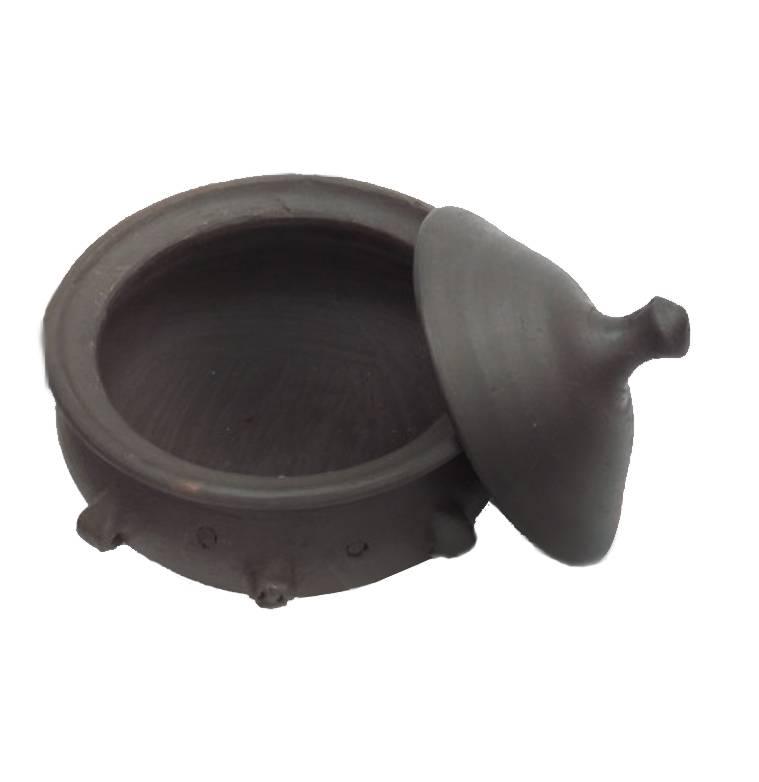 Kochtopf Keramik Pomaire Braun
