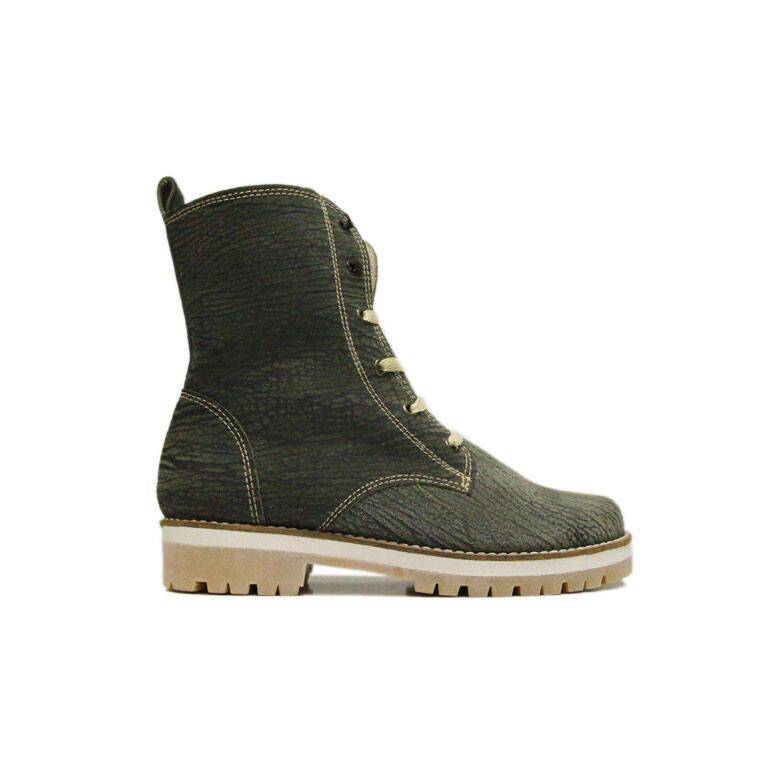 """Matices Ankle Boots """"Amazona green"""" 100% Leather"""
