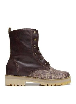 """Matices Ankle Boots """"Burgundy"""" 100% Leather"""