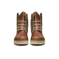 """Ankle Boots """"Caramel"""" 100% Leather"""