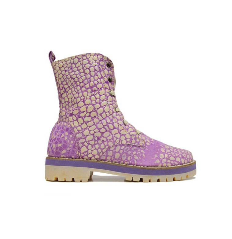 "Matices Stiefelette ""Purple moon"" 100% Leder"
