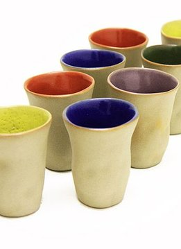 "Mario Brandao Keramik Becher ""Favella Collection"""