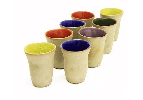 """Mario Brandao Vaso de cerámica """"Favella Collection"""""""