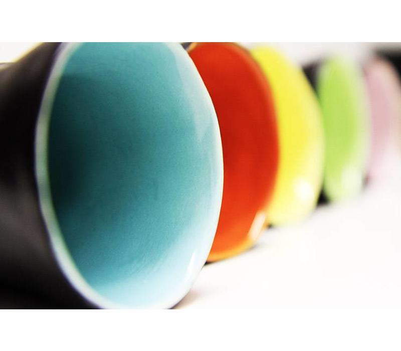 "Keramik Becher Schwarz ""Favella Collection"""
