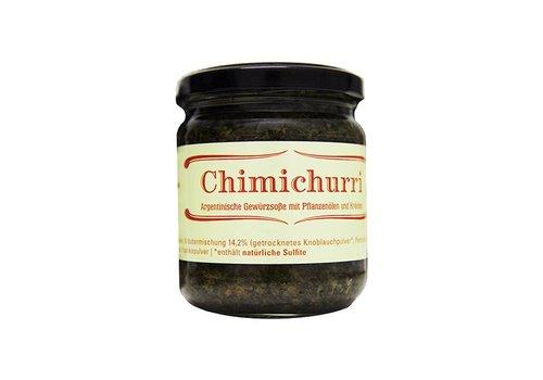 Delicatino Chimichurri salsa argentina con aceite vegetal y hierbas