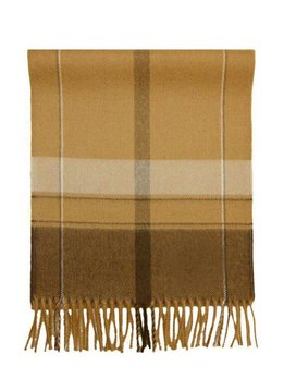 Mora SIlva Scarf 100% Baby Alpaca Wool, checkered beige