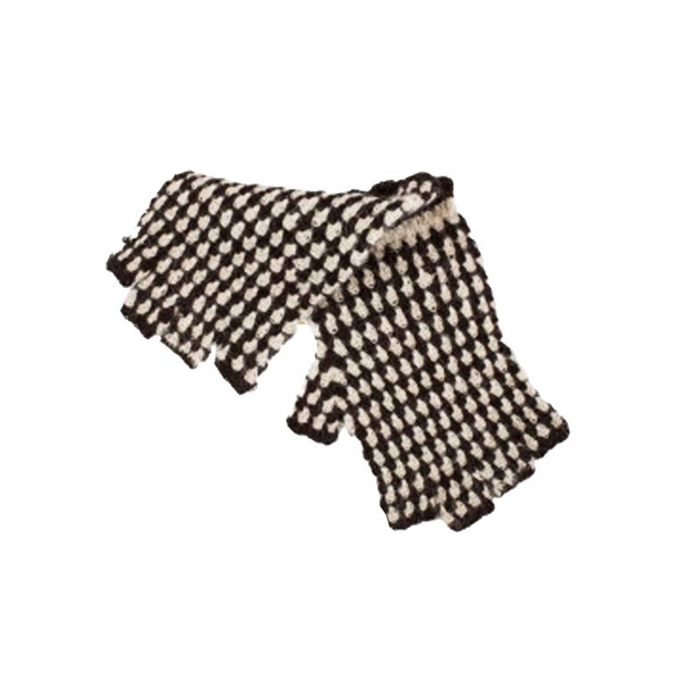 Kanthaka Handschuhe 100% Alpaca Wolle Superfine